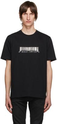 Diesel Black T-Just-Slits-X85 T-Shirt