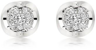 Beaverbrooks 9ct White Gold Diamond Stud Earrings