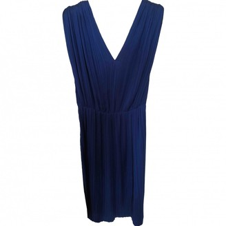 Vionnet Blue Silk Dress for Women