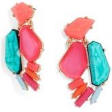 BaubleBar Women's 'Flo' Crystal Drop Earrings