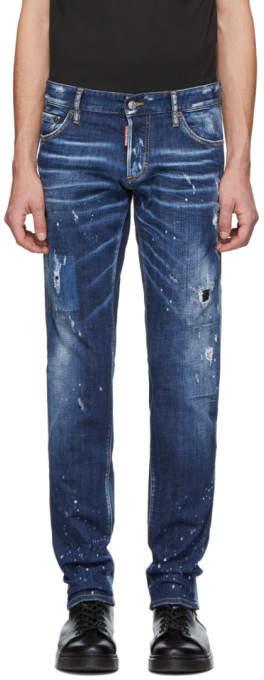DSQUARED2 Blue Perfection Wash Slim Jeans