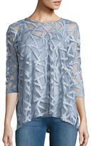Context Roundneck Patterned Top