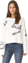 Wildfox Couture Duh Sweater