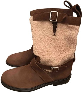 Bally Brown Suede Boots
