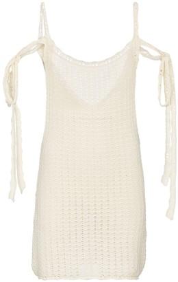 Alanui Desert Summer cotton minidress
