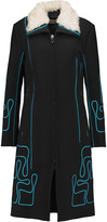 Peter Pilotto Maze embroidered wool coat