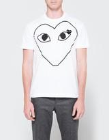 Comme des Garcons Play T-Shirt Black Heart
