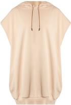 Acne Studios Leni sleeveless hooded cotton sweatshirt