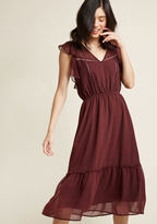 BB Dakota Library Lovely Boho Midi Dress in L