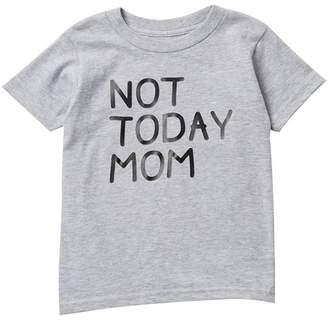 Million Polkadots Not Today Mom Short Sleeve Tee (Baby, Toddler, & Little Girls)