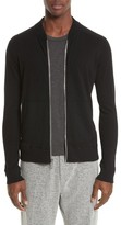 Wings + Horns Men's Slub Ribbed Bomber Jacket