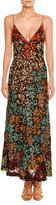 Missoni Embroidered Lace V-Neck Sleeveless Gown, Multi