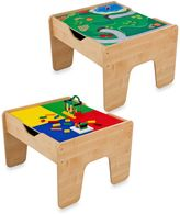 Kid Kraft 2-in-1 Activity Table with Board in Natural