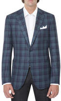 Stefano Ricci Plaid Two-Button Sport Jacket