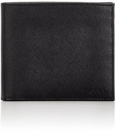 Prada Men's Leather Billfold-BLACK