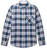Rag & Bone Fit 3 Checked Cotton Shirt - Blue