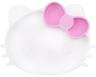 Bumkins Toddler Girl Hello Kitty Silicone Grip Dish