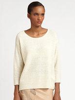 Halston Round Neck Pullover