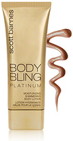Scott Barnes Body Bling Moisturizing Shimmering Body Lotion - Platinum