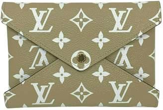 Louis Vuitton Beige Cloth Wallets