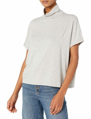 Daily Ritual Amazon Brand Women's Soft Rayon Jersey Slouchy Pullover Top