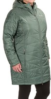 Columbia Mighty Lite Omni-Heat® Hooded Jacket - Insulated (For Plus Size Women)