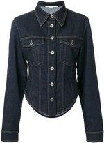 Stella McCartney fitted denim jacket - women - Cotton/Polyester/Spandex/Elastane - 40
