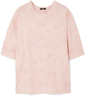 Bassike Motley Oversized Tie-dyed Organic Cotton-jersey T-shirt