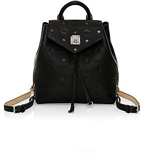 MCM Women's Essential Monogram Leather Backpack