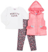 Little Lass Girls Legging Set-Preschool