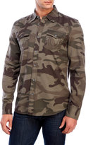 True Religion Camouflage Two-Pocket Shirt