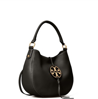 Tory Burch MILLER METAL-LOGO MINI HOBO