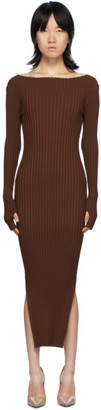 Totême Brown Orville Dress