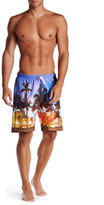 Trunks Photo Print Volley Swim Trunk