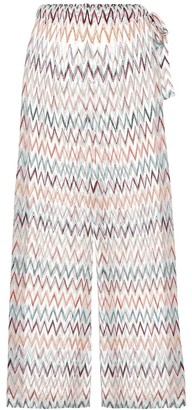 Missoni Mare Zigzag high-rise wide pants