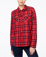 Roxy Juniors' Squary Plaid Shirt