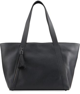 Akris Alexa Medium Colorblock Leather Zip Tote Bag
