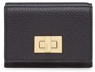 Fendi Textured Trifold Wallet