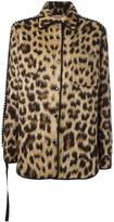 No.21 leopard print jacket