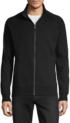 HUGO BOSS Regular-Fit Cotton-Blend Jacket