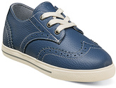 Florsheim Blue Leather Flash Wing Sneaker - Kids