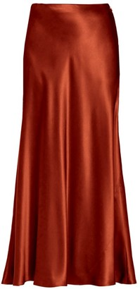 Lafayette 148 New York Guthrie Silk Skirt