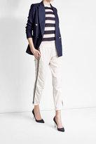 Brunello Cucinelli Cotton Sweatpants with Embellishment
