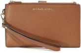 MICHAEL Michael Kors Adele Double Zip Wristlet