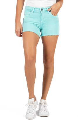 KUT from the Kloth Gidget Fray Hem Shorts