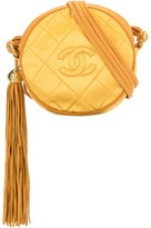 Chanel Pre Owned 1990s quilted round crossbody bag