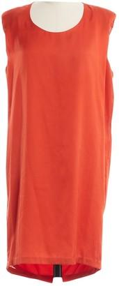 Acne Studios Orange Polyester Dresses