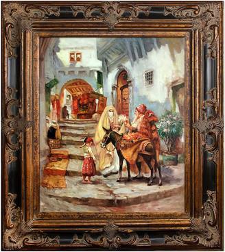 Frederick Overstock Art La Pastiche By Overstockart The Orange Seller By Arthur Bridgman