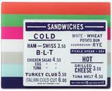 Kate Spade all in good taste Set of 2 Striped Food Prep Board