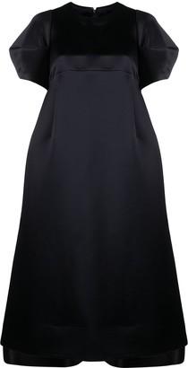 Comme des Garcons Puff-Sleeve A-Line Dress